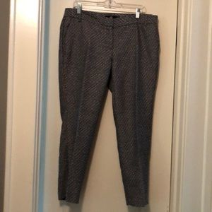 Multi Gray Colored Ankle Pants